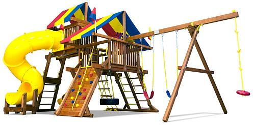 Готовая детская площадка - фото