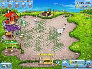 Игра веселая ферма, беспокойное хозяйство