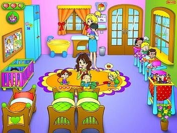 Игры для девочек - детский сад.