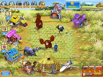 Фрагменты игры Веселая ферма_3 Мадагаскар