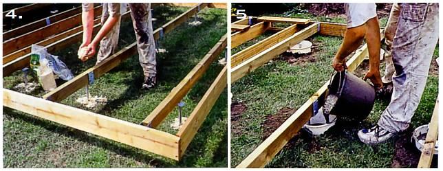 как сделать пруд в саду фото и описание