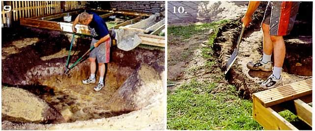 строительство пруда своими руками фото
