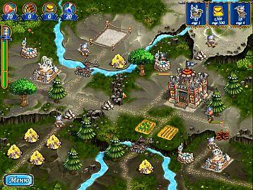 Фрагменты игры Янки при дворе короля Артура - интриги старого Мерлина