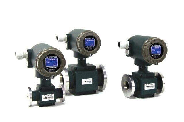 Расходомеры Питерфлоу РС работающие в составе счетчика тепла производства ЗАО Термотроник